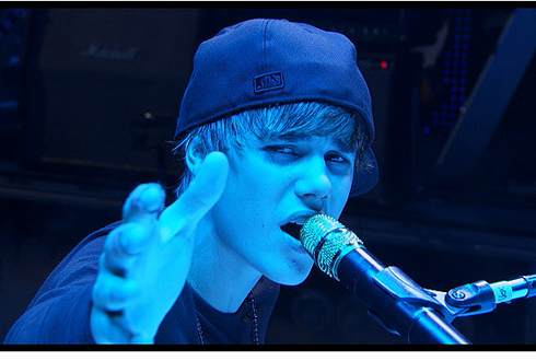 Still shot from the movie: Justin Bieber - Never Say Never.
