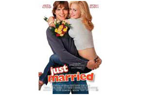 Still shot from the movie: Just Married.