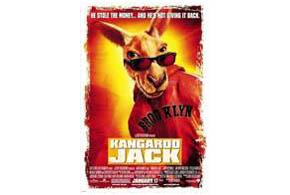 Still shot from the movie: Kangaroo Jack.