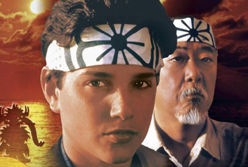 Still shot from the movie: The Karate Kid.