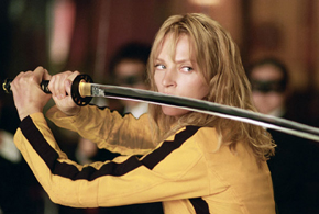 Still shot from the movie: Kill Bill: Volume 1.