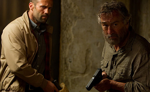 Still shot from the movie: Killer Elite.