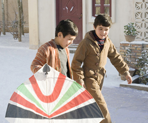 Still shot from the movie: The Kite Runner.