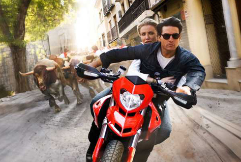 Still shot from the movie: Knight and Day.