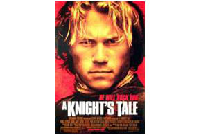 Still shot from the movie: A Knight's Tale.