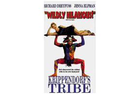 Still shot from the movie: Krippendorf's Tribe.