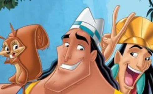Still shot from the movie: Kronk's New Groove.