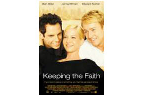 Still shot from the movie: Keeping The Faith.