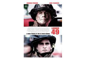Still shot from the movie: Ladder 49.