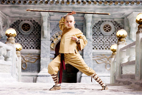 Still shot from the movie: The Last Airbender.