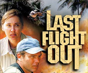 Still shot from the movie: Last Flight Out: Billy Graham Presents.