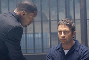 Still shot from the movie: Law Abiding Citizen.