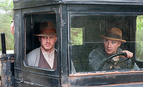 Still shot from the movie: Lawless.