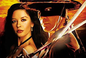 Still shot from the movie: The Legend of Zorro.