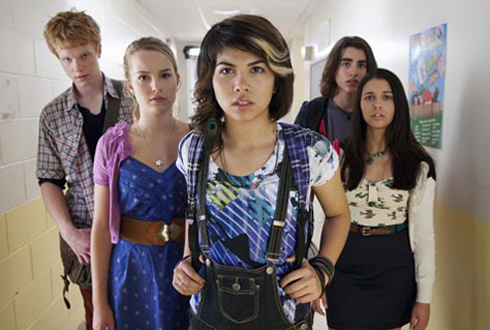 Still shot from the movie: Lemonade Mouth.