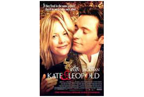 Still shot from the movie: Kate And Leopold.