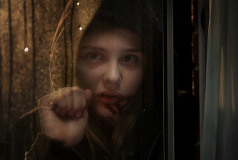 Still shot from the movie: Let Me In.