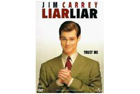 Still shot from the movie: Liar Liar.