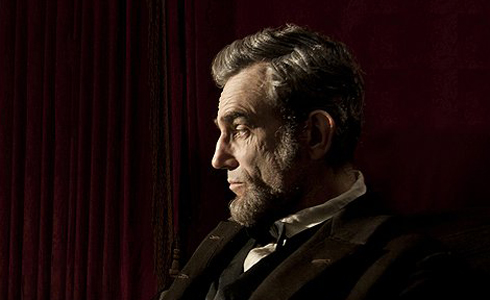 Still shot from the movie: Lincoln.