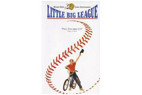 Still shot from the movie: Little Big League.