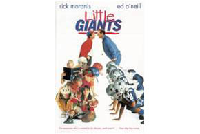 Still shot from the movie: Little Giants.