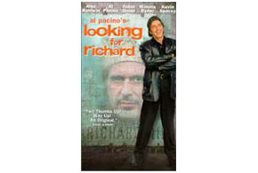 Still shot from the movie: Looking For Richard.