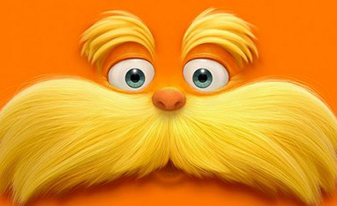 Still shot from the movie: Dr. Seuss' The Lorax.