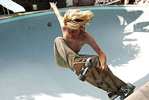 Still shot from the movie: Lords of Dogtown.