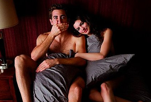 Still shot from the movie: Love and Other Drugs.