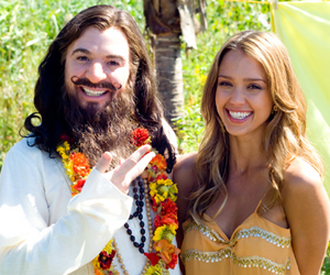 Still shot from the movie: The Love Guru.