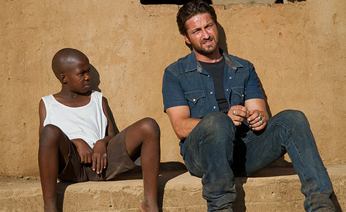 Still shot from the movie: Machine Gun Preacher.