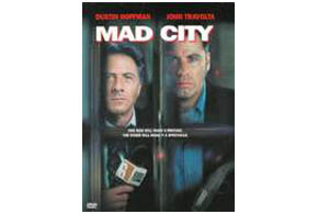 Still shot from the movie: Mad City.