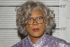 Still shot from the movie: Madea Goes to Jail.