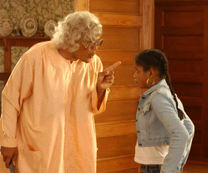 Still shot from the movie: Madea's Family Reunion.