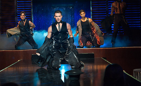 Still shot from the movie: Magic Mike.