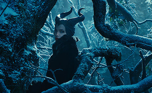Still shot from the movie: Maleficent.