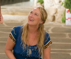 Still shot from the movie: Mamma Mia!.