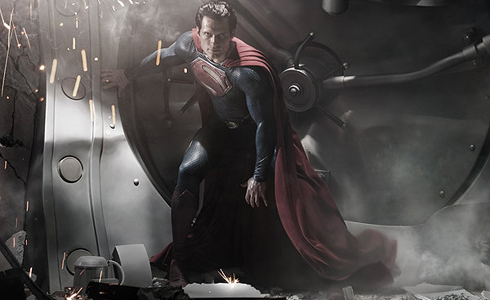 Still shot from the movie: Man of Steel.