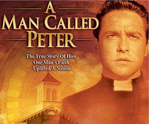 Still shot from the movie: A Man Called Peter.