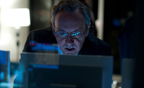 Still shot from the movie: Margin Call.