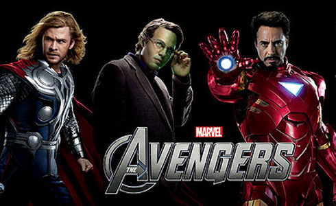 Still shot from the movie: Marvel's The Avengers.