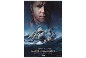 Still shot from the movie: Master and Commander: The Far Side of the World.