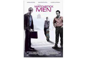 Still shot from the movie: Matchstick Men.