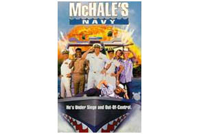 Still shot from the movie: McHale's Navy.