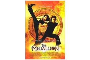 Still shot from the movie: The Medallion (2003).