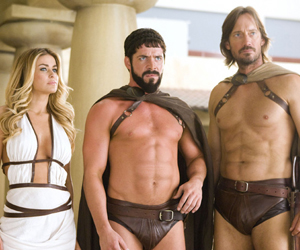 Still shot from the movie: Meet the Spartans.