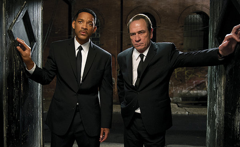 Still shot from the movie: Men In Black III.