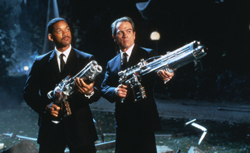 Still shot from the movie: Men In Black.