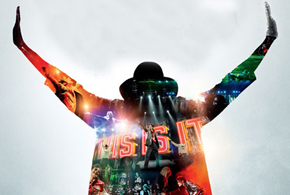 Still shot from the movie: Michael Jackson's This Is It.