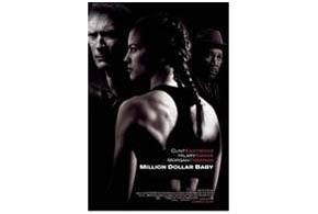 Still shot from the movie: Million Dollar Baby.